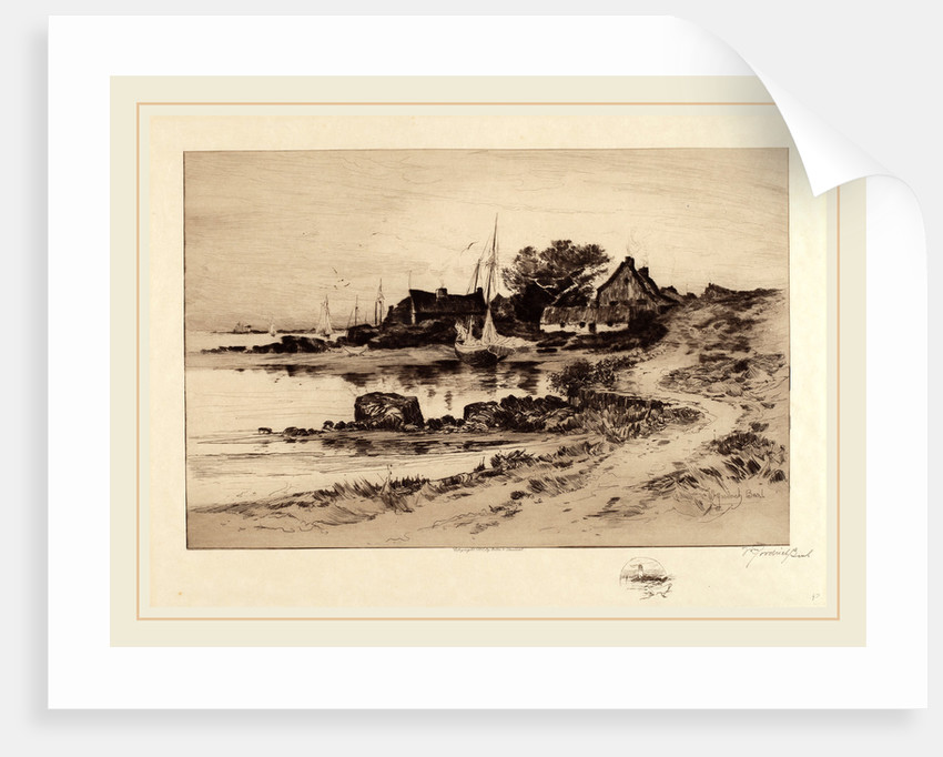 Old Gloucester Shore by William Goodrich Beal