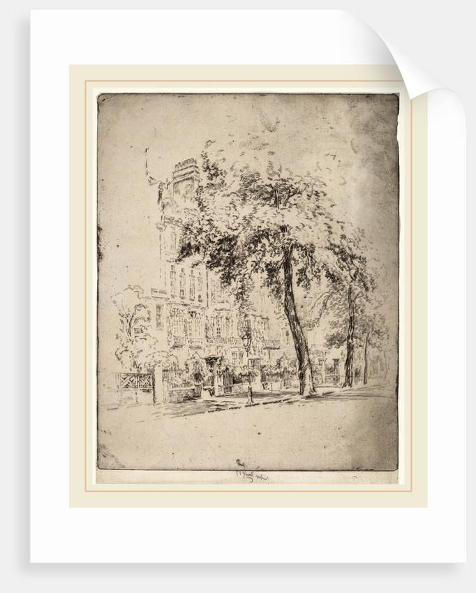 Big Tree, Cheyne Walk by Joseph Pennell