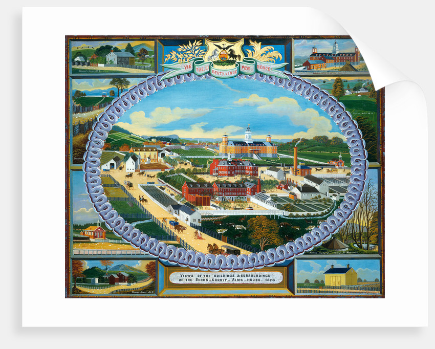 Berks County Almshouse, 1878 by Charles C. Hofmann