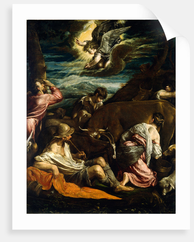 The Annunciation to the Shepherds by Jacopo Bassano