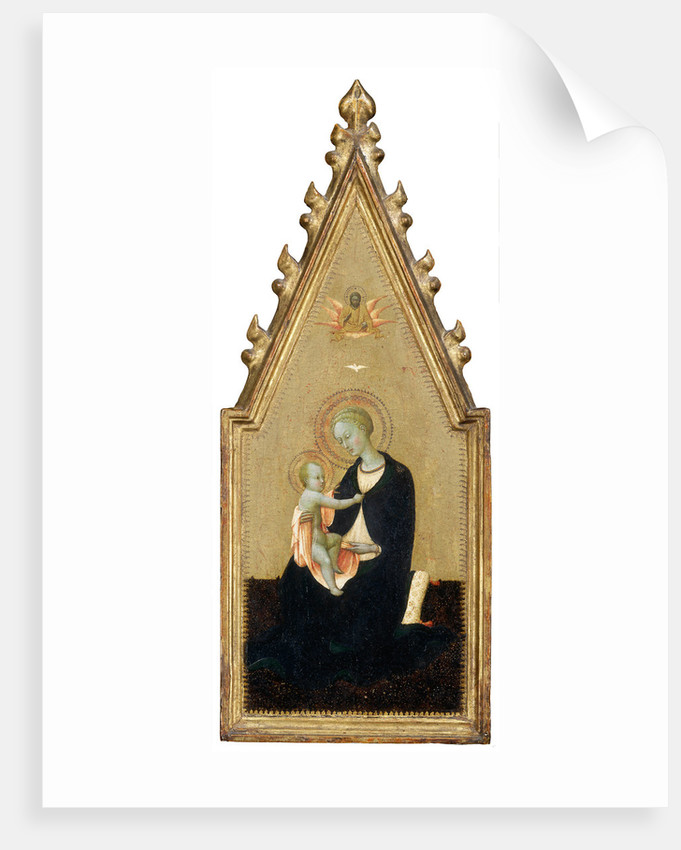Madonna of Humility by Sassetta