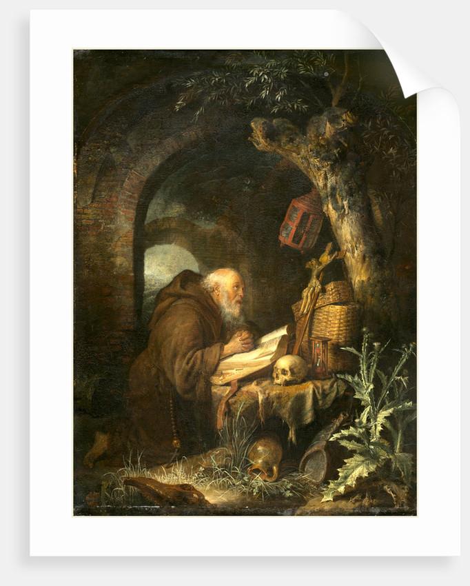 Dutch, The Hermit, 1670 by Gerrit Dou
