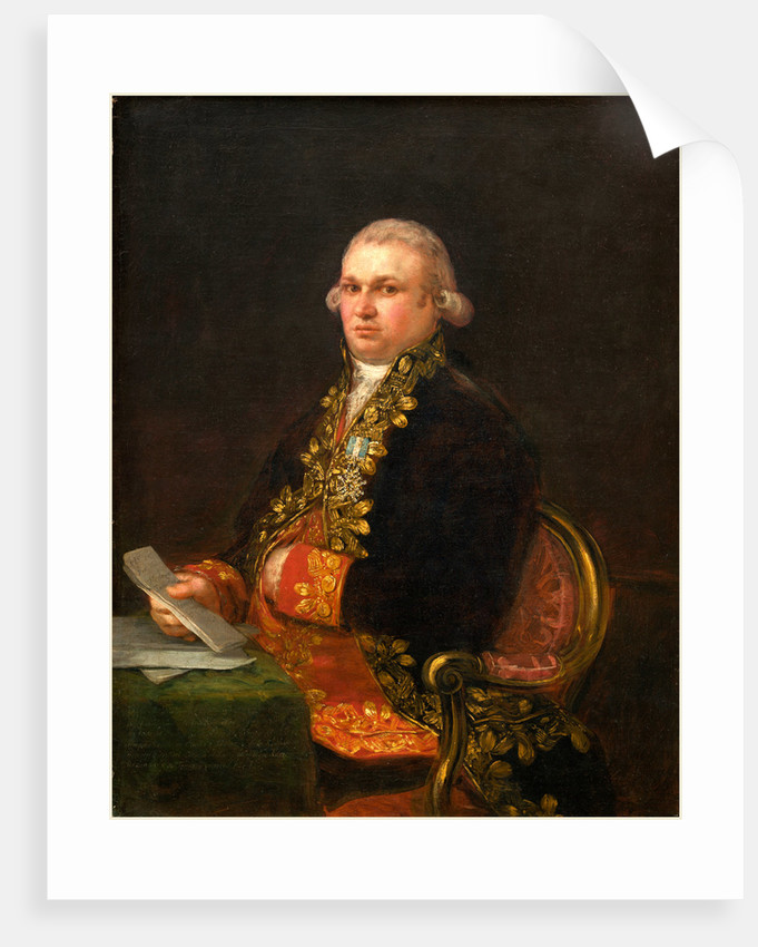 Don Antonio Noriega, 1801 by Francisco de Goya