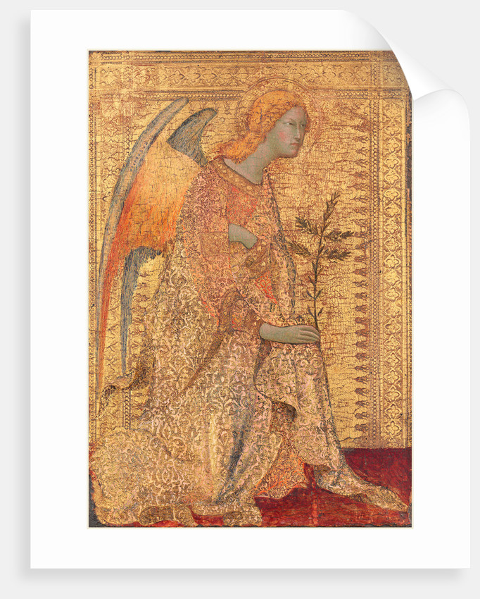 The Angel of the Annunciation by Simone Martini