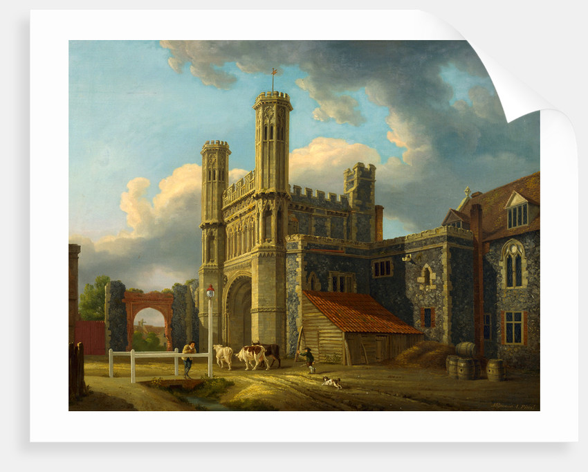 St. Augustine's Gate, Canterbury by Michael 'Angelo' Rooker