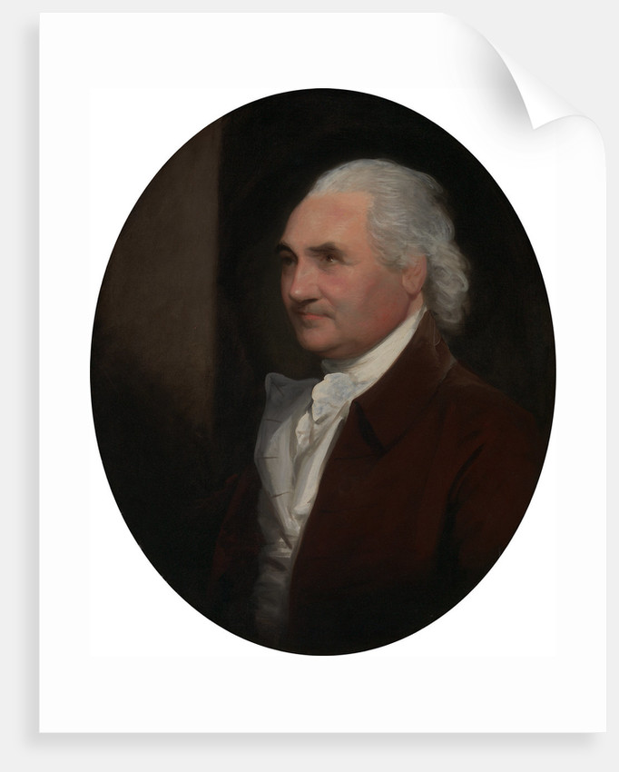 Colonel Isaac Barre by Gilbert Stuart