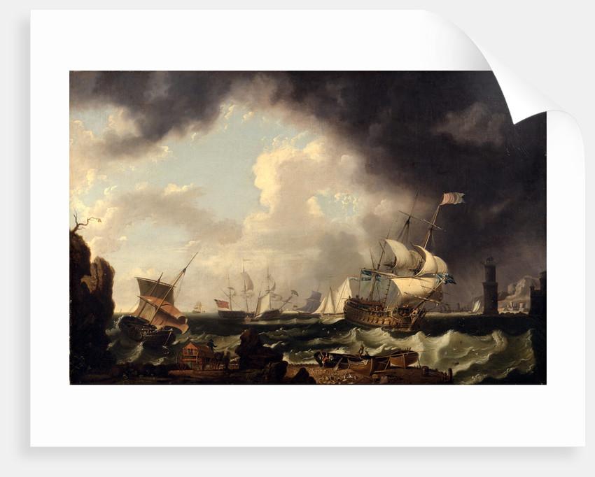 The Fishery, Richard Wright, ca. 1720-ca. 1775 by Richard Wright