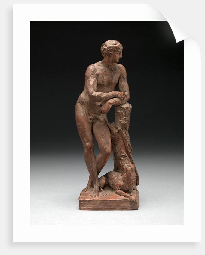 Sculpture of Adonis Apollo Meleager by Joseph Nollekens