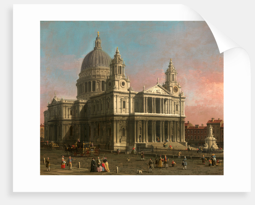 St. Paul's Cathedral, London, UK by Canaletto