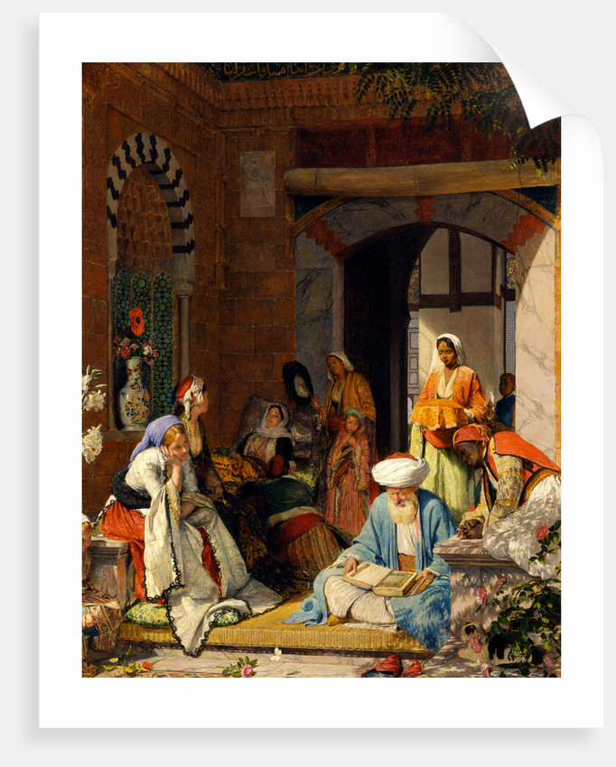 And the Prayer of Faith Shall Save the Sick by John Frederick Lewis