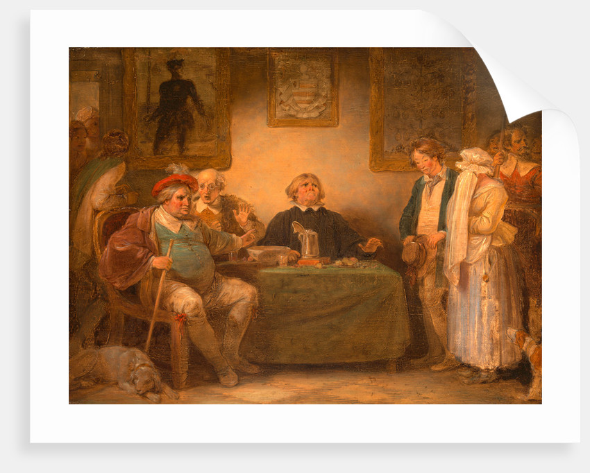 The Seven Ages of Man: The Justice, 'As You Like It,' II, vii by Robert Smirke
