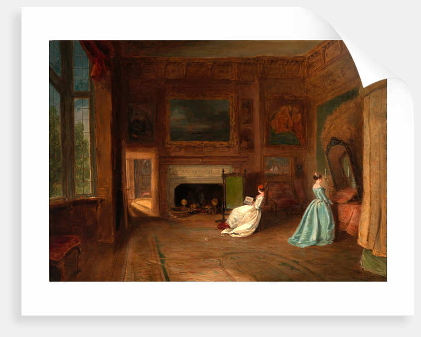The Lady Betty Germain Bedroom at Knole, Kent by James Holland