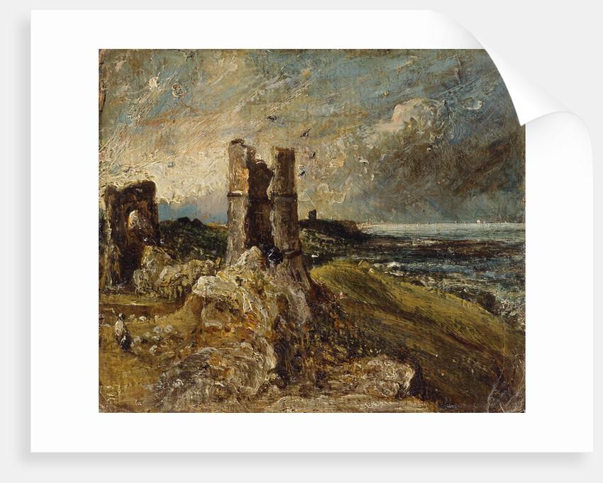 Hadleigh Castle by John Constable