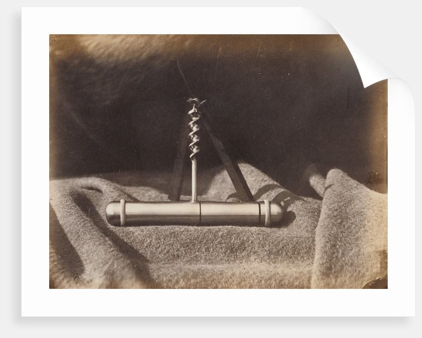 Auger on a Blanket by A.J. Russell