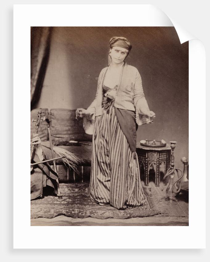 Egyptian Dancing Girl by Roger Fenton