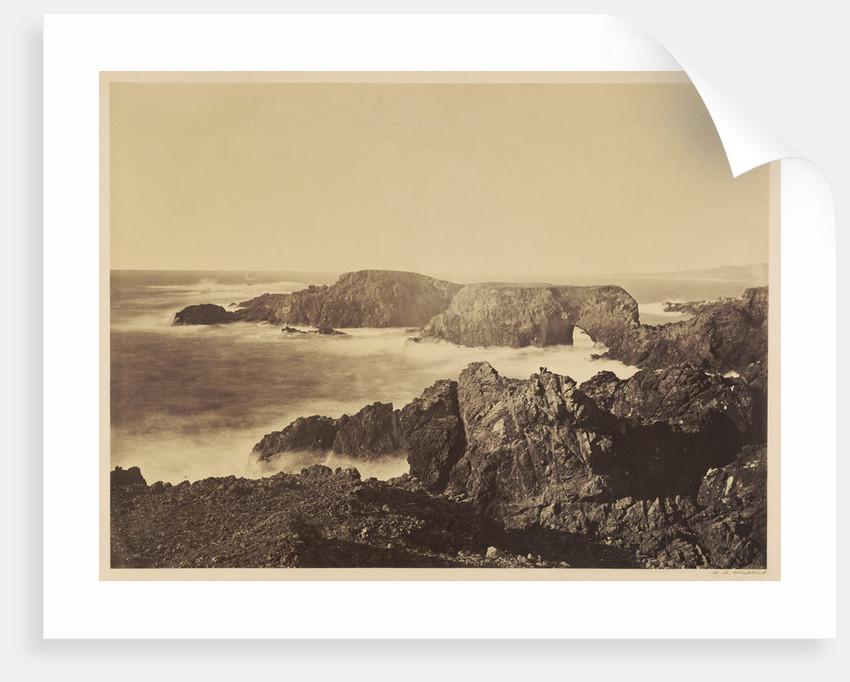 Coast View off Mendocino by Carleton Watkins