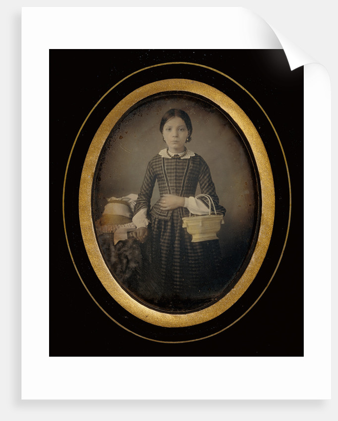 Girl Holding a Basket by Atelier Héliographique