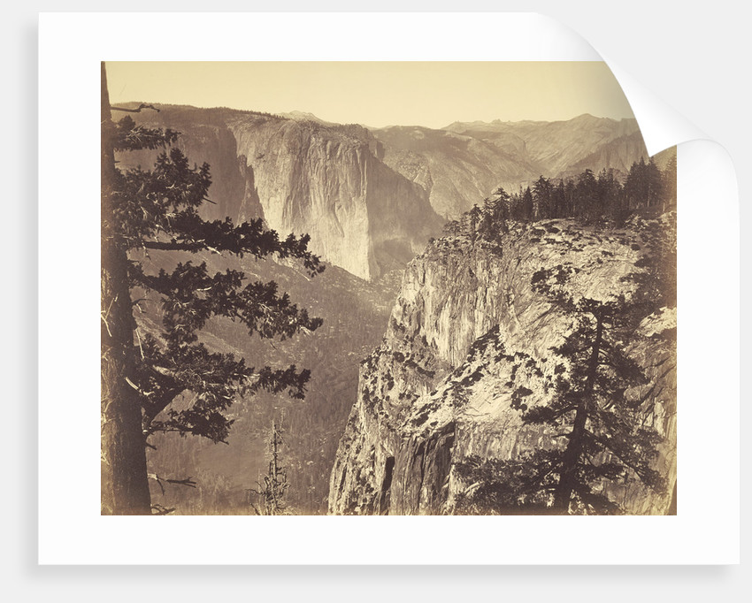 First View of the Valley by Carleton Watkins