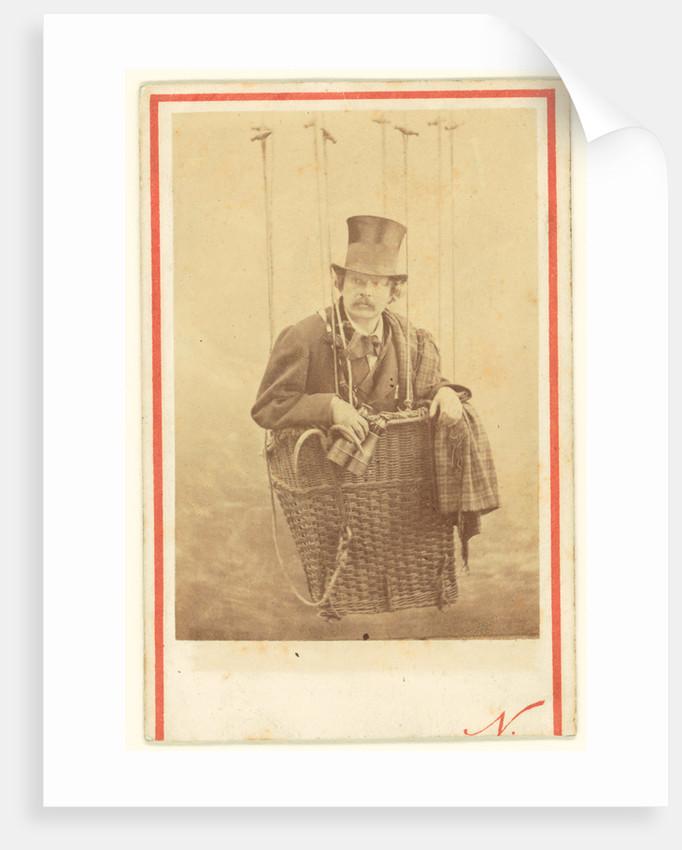 Felix Nadar in Gondola of a Balloon by Nadar [Gaspard Félix Tournachon]