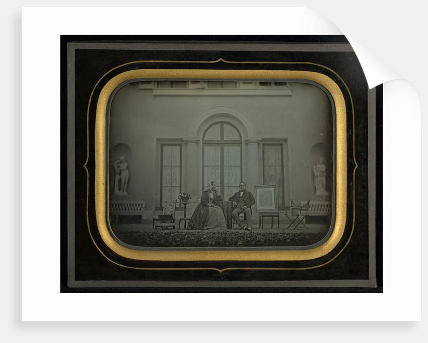 Jean-Gabriel and Anna Eynard by Jean-Gabriel Eynard