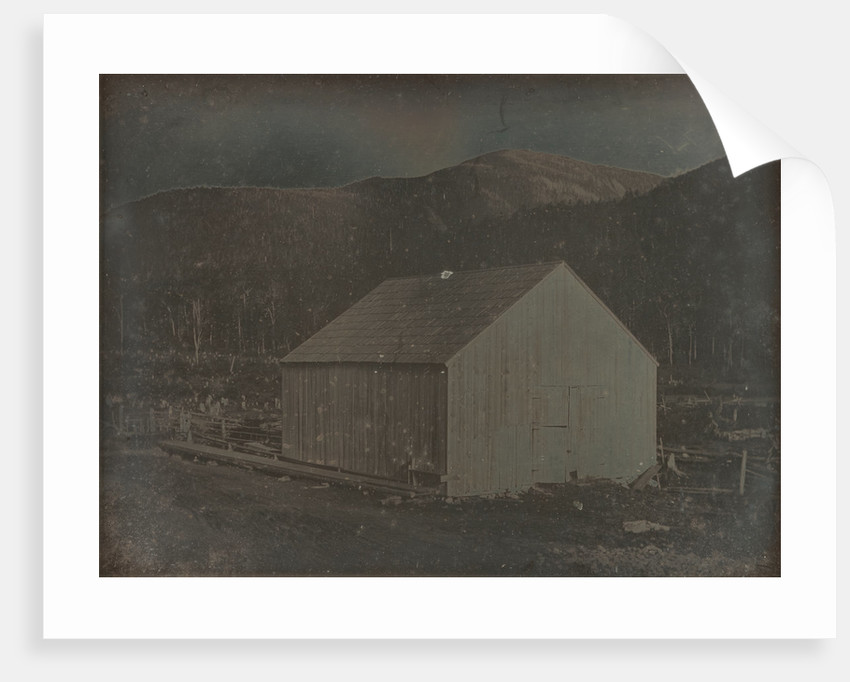 Barn in Hart's Location, New Hampshire by Dr. Samuel A. Bemis