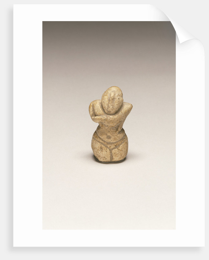 Fragmentary Neolithic standing female figurine by Anonymous