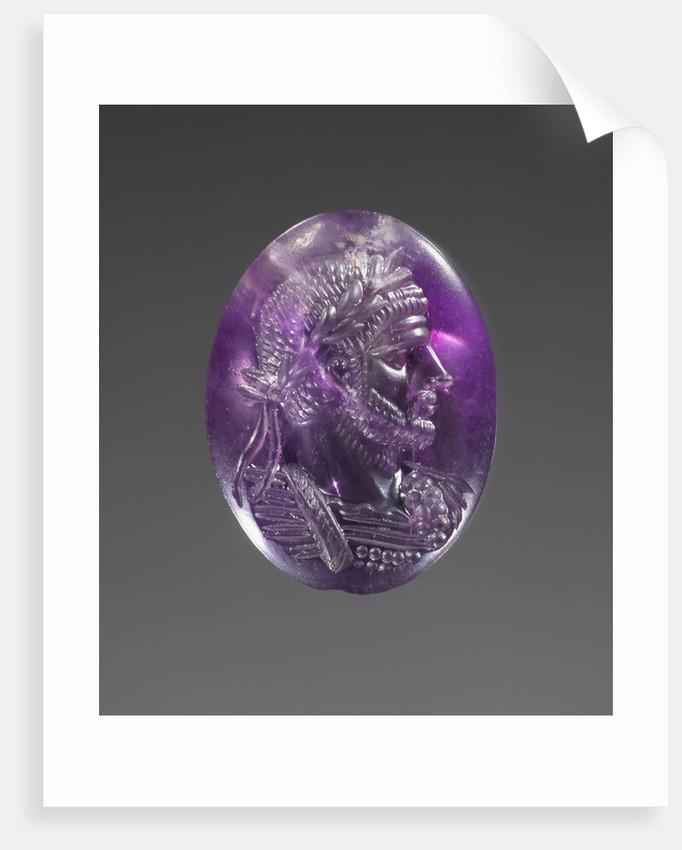 Engraved Portrait of Aurelian by Anonymous