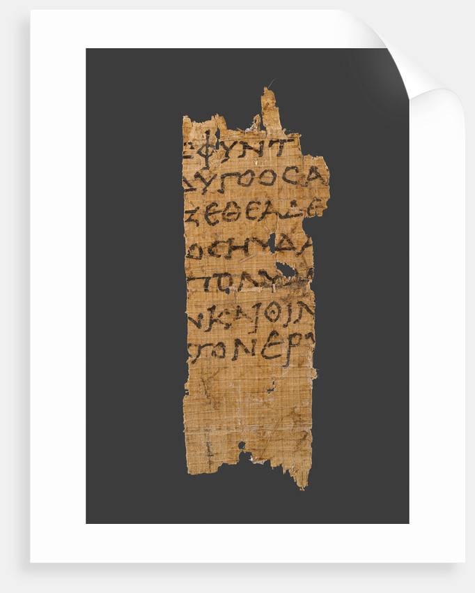Fragment of Homer's Odyssey by Anonymous