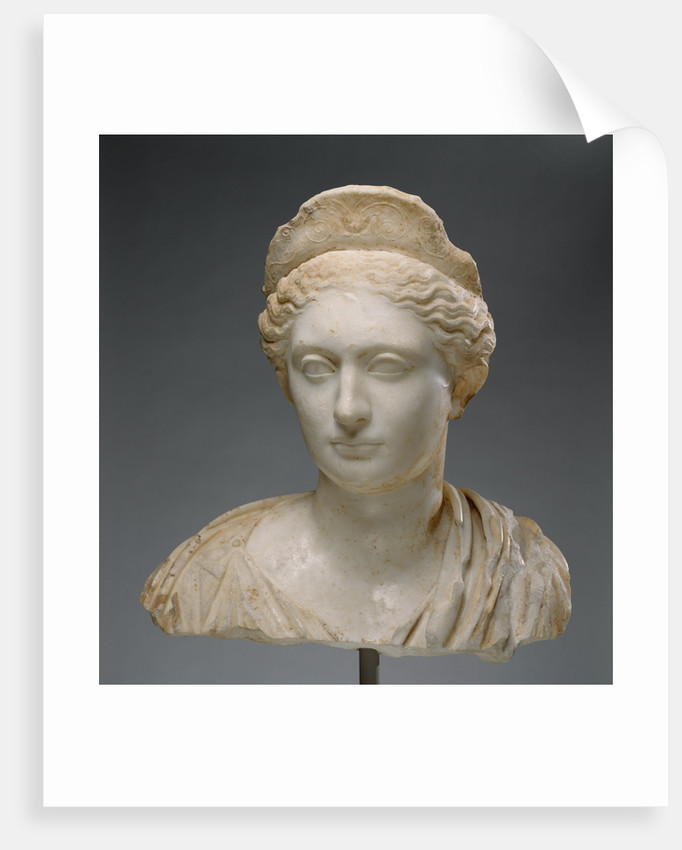 Bust of a Woman by Anonymous