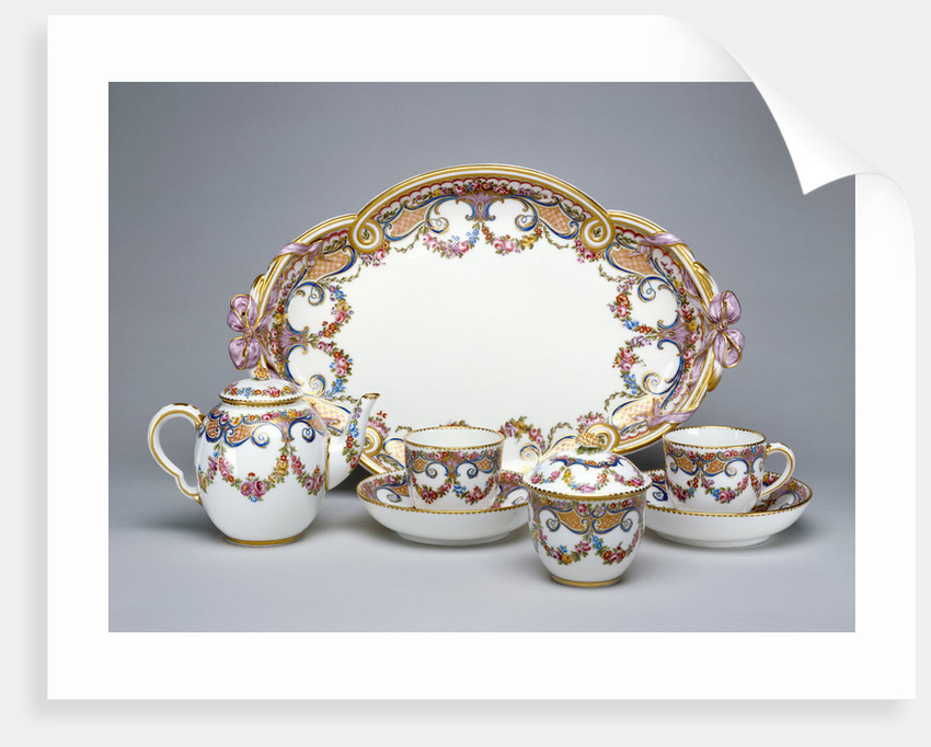 A Tea Service (déjeuner ruban) by Etienne-Henri Le Guay
