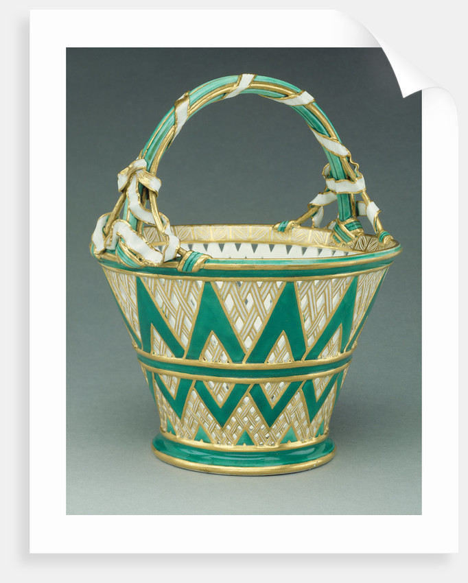 Basket (panier, deuxième grandeur) by Sèvres Manufactory