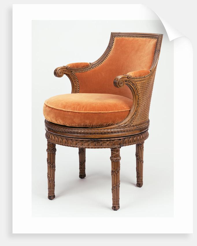 Chair (fauteuil de toilette) by Georges Jacob
