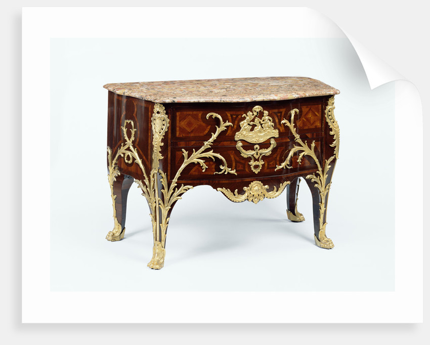 Commode by Charles Cressent