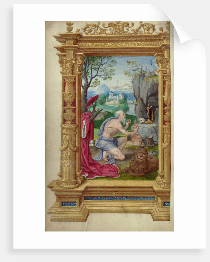 Saint Jerome by Master of the Getty Epistles