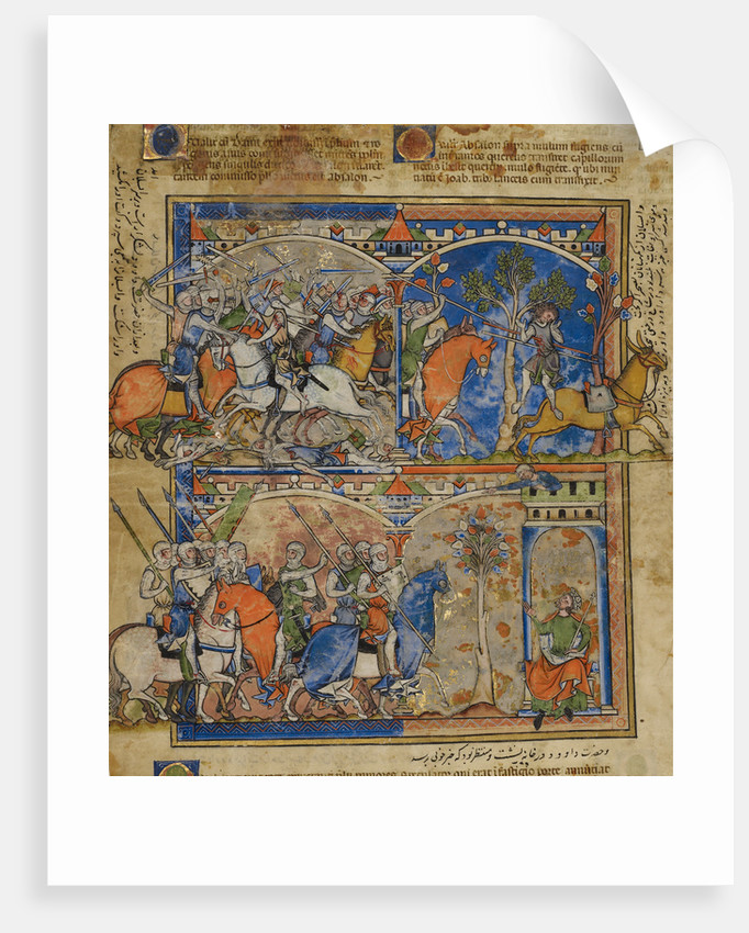 Scenes from the Life of Absalom by Anonymous