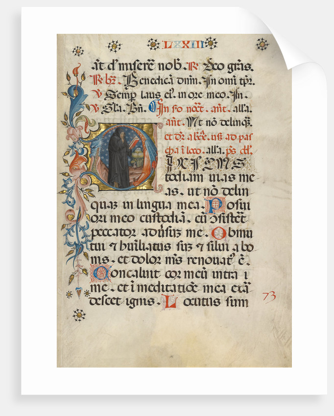 Initial D: A Monk with His Finger to His Lips by Anonymous