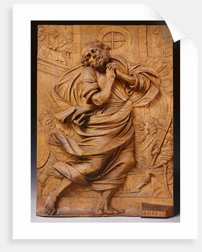 The Penitent St. Peter by Christoph Daniel Schenck