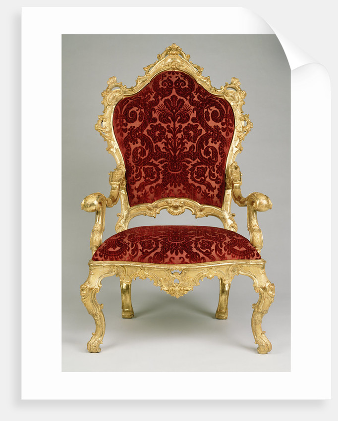 One armchair by Anonymous