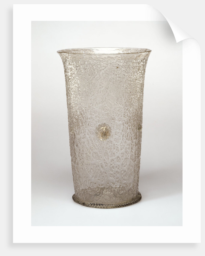 Ice-Glass Beaker by Anonymous
