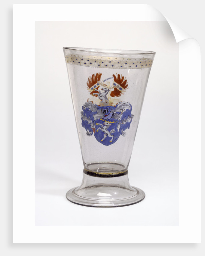 Beaker with Arms of Schiltl and Portner von Theuern by Anonymous