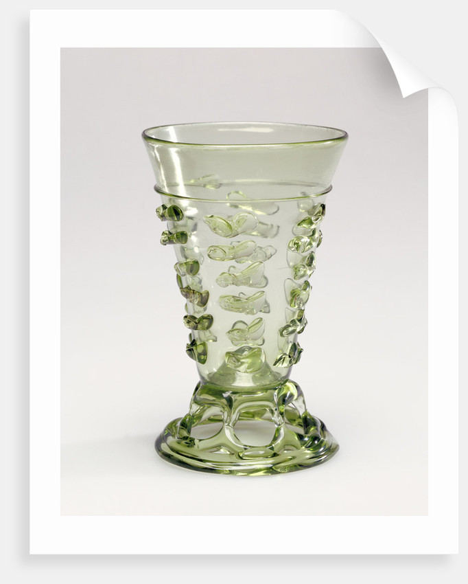 Footed Beaker by Anonymous