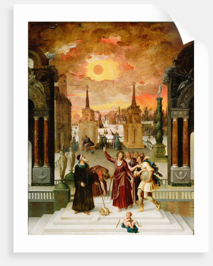 Dionysius the Areopagite Converting the Pagan Philosophers by Antoine Caron