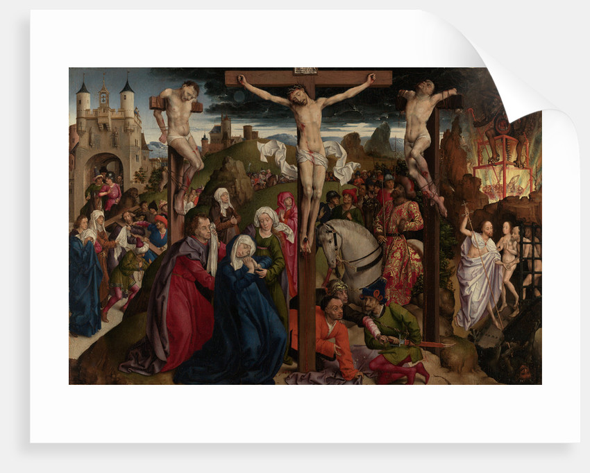 The Crucifixion by Dreux Budé Master