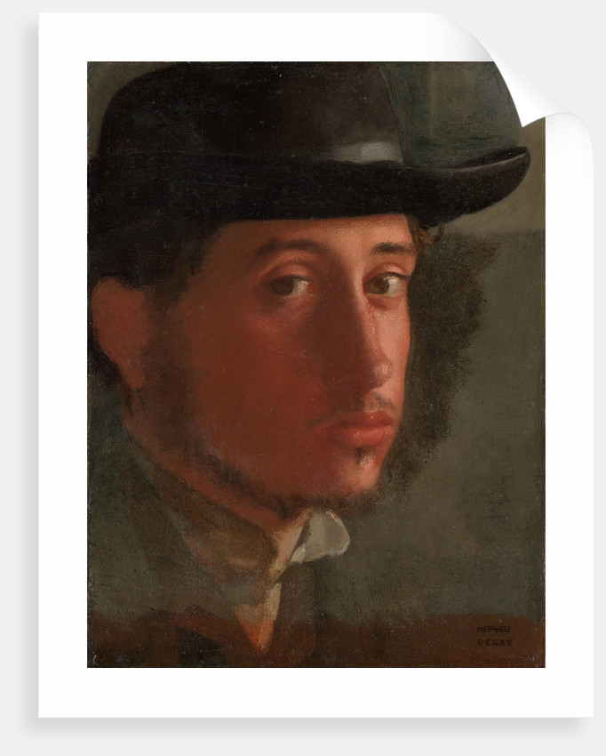 Self-portrait by Edgar Degas