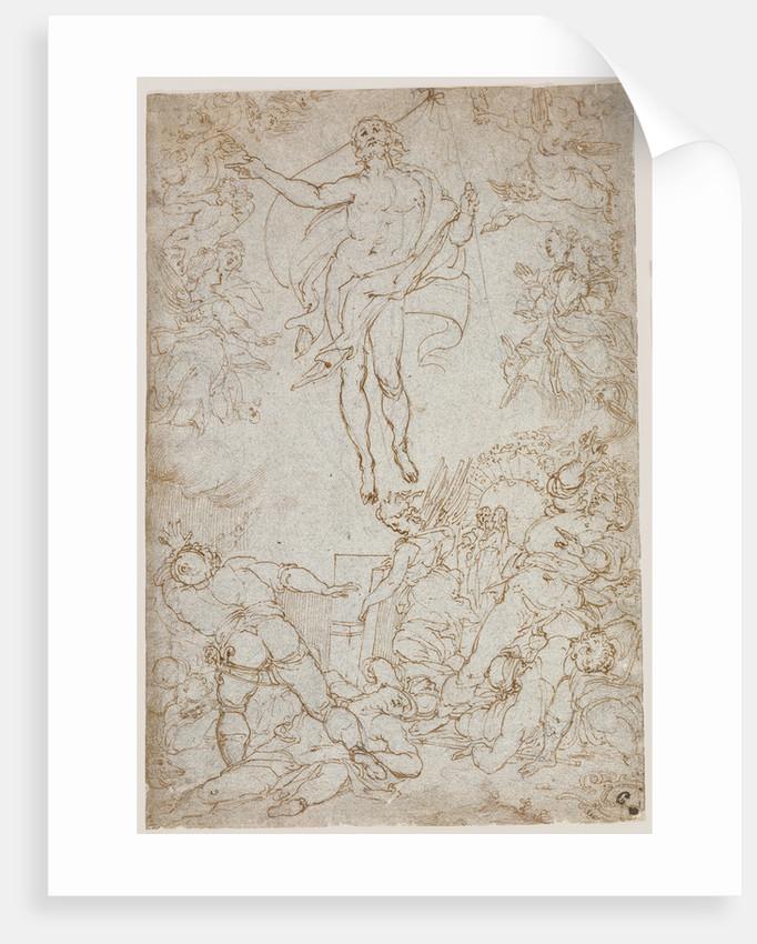 The Resurrection by Santi di Tito