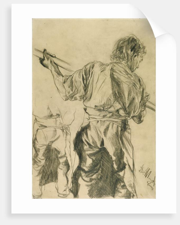 Figure Studies by Adolf von Menzel