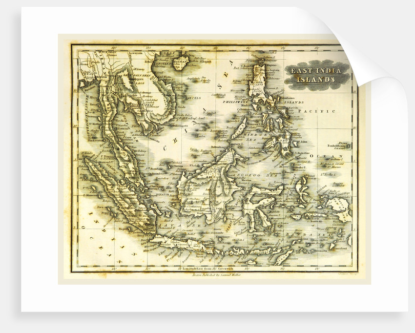 East India Islands map by Anonymous