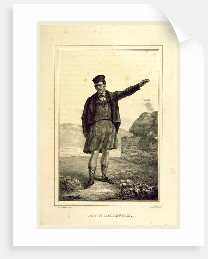 James Macdonald, Souvenirs des Highlands, 1832 by Anonymous