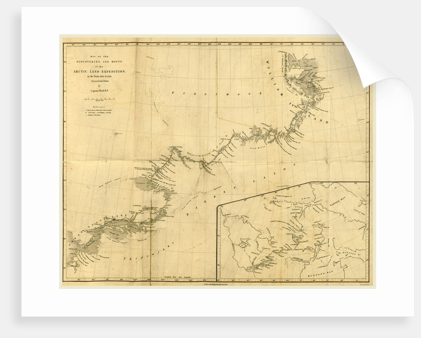 Narrative of the Arctic Land Expedition to the mouth of the Great Fish River, and along the shores of the Arctic Ocean, in the years 1833, 1834, and 1835 by Anonymous