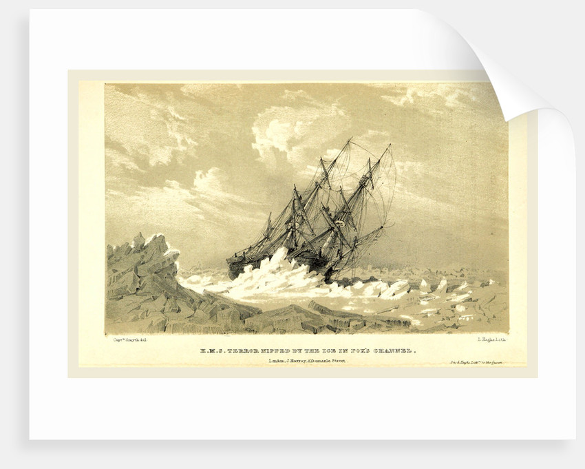 Expedition in H.M.S. Terror, undertaken with a view to geographical discovery on the Arctic shores, in the years 1836-1837 by Anonymous